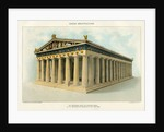 The Parthenon, from the Restored Model in the Metropolitan Museum of Art Illustration by Corbis