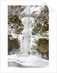 Multnomah Falls in Winter by Corbis