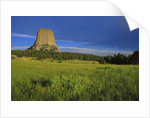 Devils Tower National Monument by Corbis