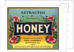 Extracted Honey Product Label by Corbis