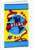 Atlas with Globe of the Earth and Stars Broom label by Corbis