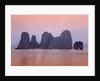 Boats in Halong Bay by Corbis