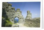 Ruins of Tintagel Castle by Corbis