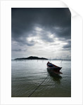 Fishing Boats in Thong Krut Bay in Koh Samui by Corbis