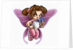 Butterfly Girl by Corbis