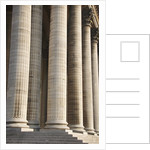 Columns of Pantheon in Paris by Corbis