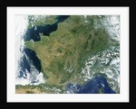 France and the Snow Covered Alps by Corbis