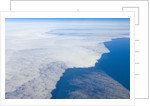 Aerial View of Clouds above Pacific Ocean near Chile by Corbis