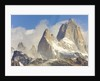 Fitzroy Massif and Cumulus Clouds by Corbis