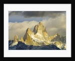 Fitzroy Massif and Cumulus Clouds at Sunrise by Corbis