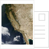 West Coast of the United States and Baja California by Corbis