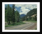 Highway 550 in the San Juan Mountains by Corbis