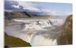 Rainbow Over Gullfoss Waterfall by Corbis