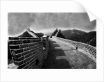 Great Wall of China Under Storm Clouds by Corbis