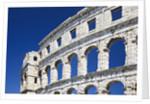 Roman Amphitheater in Pula by Corbis