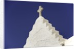 Cross on Top of Gable by Corbis