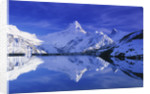Bachalpsee Lake and Wetterhorn by Corbis