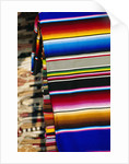 Blankets, Mexico by Corbis