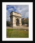 Arch of Titus by Corbis