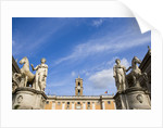Piazza del Campidoglio by Corbis