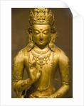 Detail of Bronze Boddhisatva by Zanabazar
