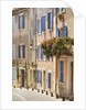 Geraniums on Balcony in St.-Saturnin-les-Apt by Corbis