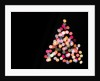 Multicolored Lights on Christmas Tree by Corbis