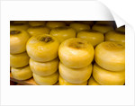 Stacks of Cheese by Corbis