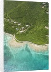 Coastline West of Road Town on Tortola by Corbis