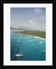 Sailboats on South End of Virgin Gorda by Corbis