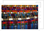Woven Goods For Sale at Open Air Market by Corbis