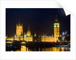 House of Parliament in London by Corbis