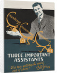 Three Important Assistants Motivational Poster by Corbis