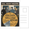Golden Selling Hours Motivational Poster by Corbis