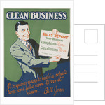 Clean Business Motivational Poster by Corbis