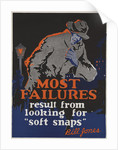 Most Failures Motivational Poster by Corbis