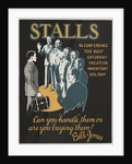 Stalls Motivational Poster by Corbis