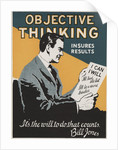 Objective Thinking Insures Results Motivational Poster by Corbis