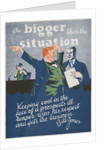 Be Bigger Than the Situation Motivational Poster by Corbis