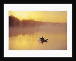 Fly-fishing in Lake Muskoka, Ontario by Corbis