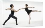 Ballet pas de deux by Corbis
