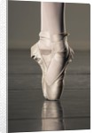 Feet of ballet dancer en pointe by Corbis