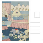 Illustration of Decorated Nursery by Corbis