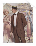 Royal Tailors Illustration of Man in Atlantic City by Corbis