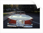1950s Just Married Sign On Back Of Ford Convertible Car by Corbis