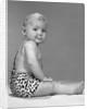 1960s Baby In Leopard-Spotted Tarzan Strongman Caveman Costume by Corbis