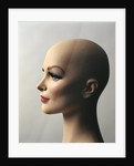 1970s Profile Of Bald Female Mannequin Head by Corbis