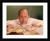 1960s Angry Man Businessman Desk Full Of Bills Paper Work Office Stress Frustration by Corbis