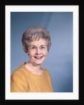 1950s 1960s Portrait Senior Mature Woman Gray Hair by Corbis
