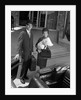 1960s Couple Taking New Baby Home From Hospital by Corbis
